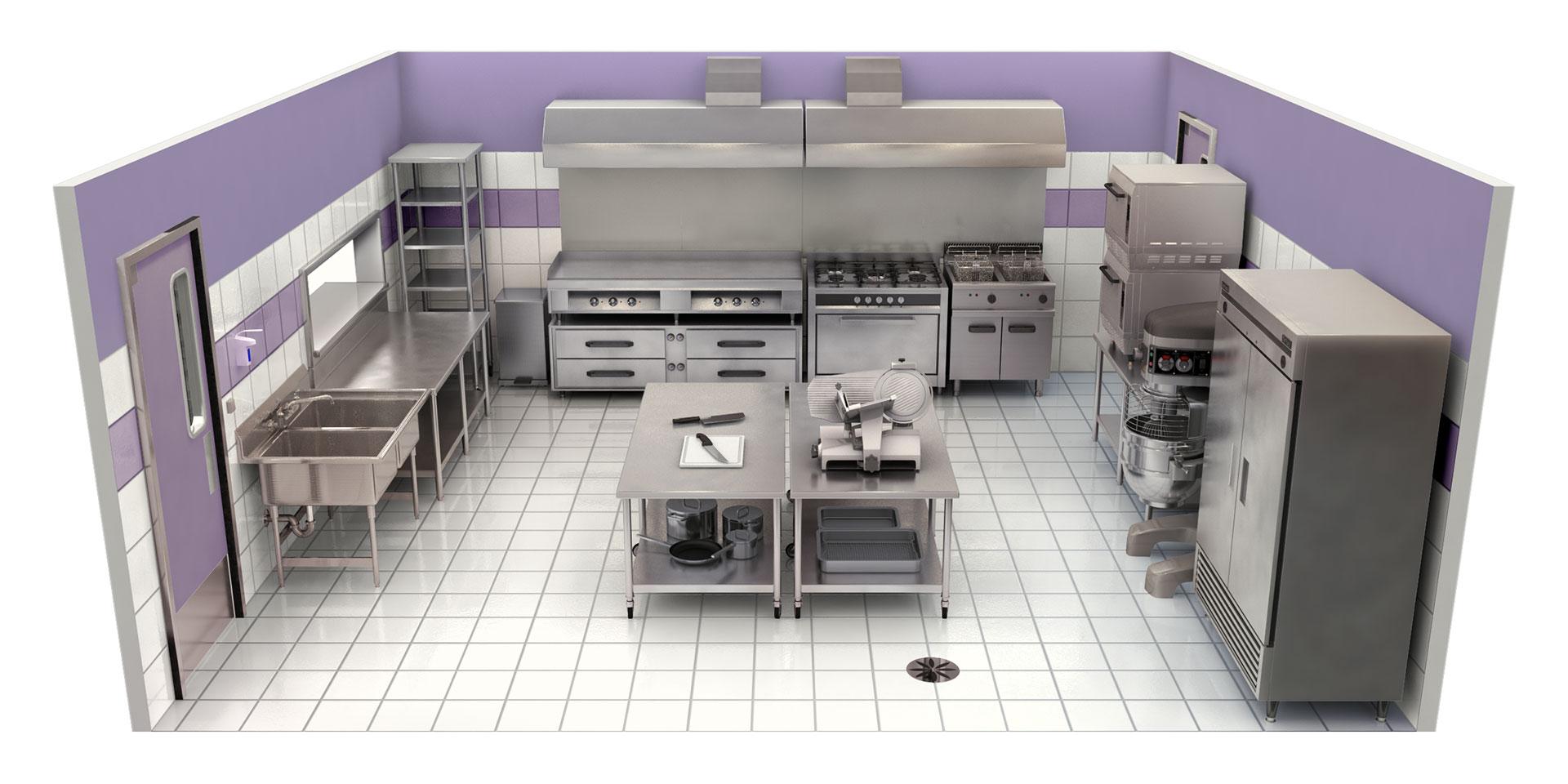 Artflow infographie 3d et illustration - Mesure d hygiene en cuisine ...